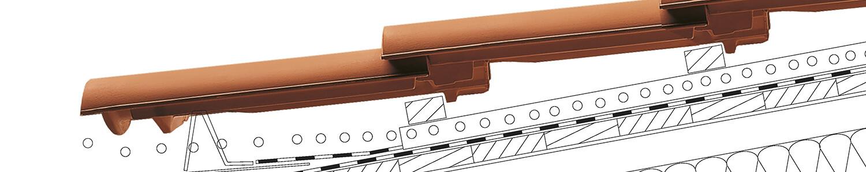 Dachówki ceramiczne na dachy o nachyleniu połaci od 7°