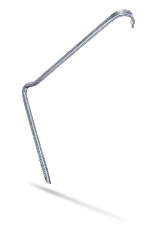Klamra burzowa wbijana cynkowo-aluminiowa, łata uniwersalna (SIN)