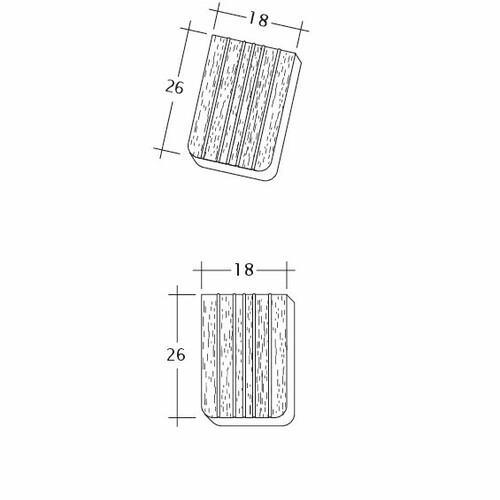 Rysunek techniczny produktu ANTIQUE ErhO-Ger-Firstanschluss