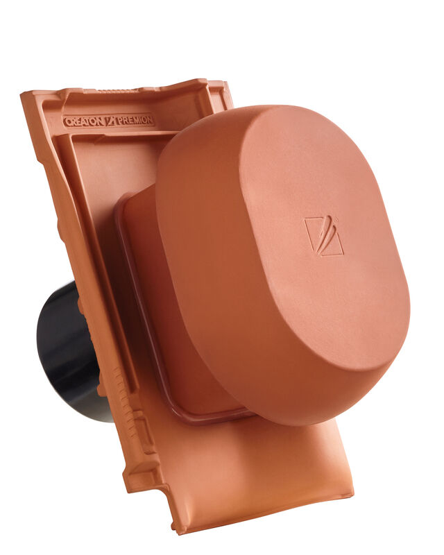 PRE SIGNUM ceramiczny kominek wentylacyjny DN 150/160 mm z adapterem