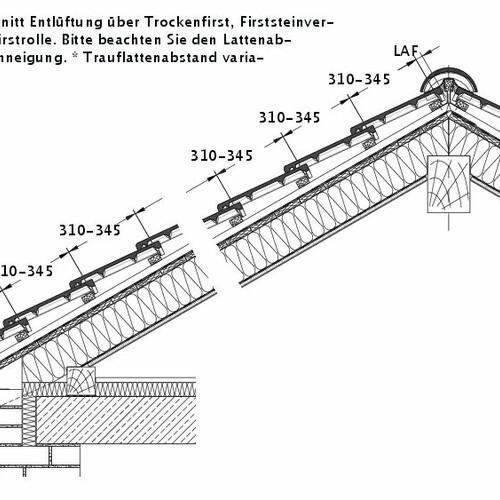 Rysunek techniczny produktu HEIDELBERG DQF LUEFT-PROFILIERTE-BDS