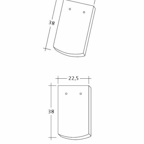Rysunek techniczny produktu AMBIENTE Seg-1-1-4