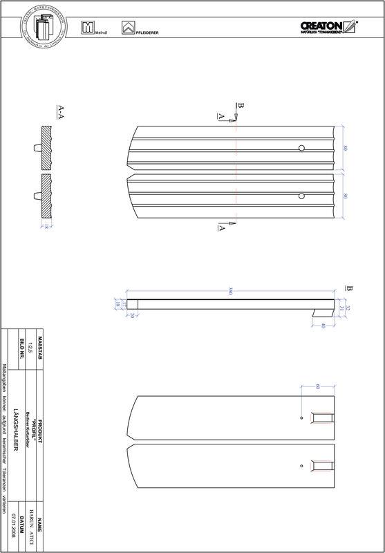 Plik CAD produktu PROFIL krój segmentowy BKBI-LH