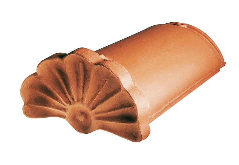 GUT gąsior początkowy ozdobny z muszlą ceramiczny PP