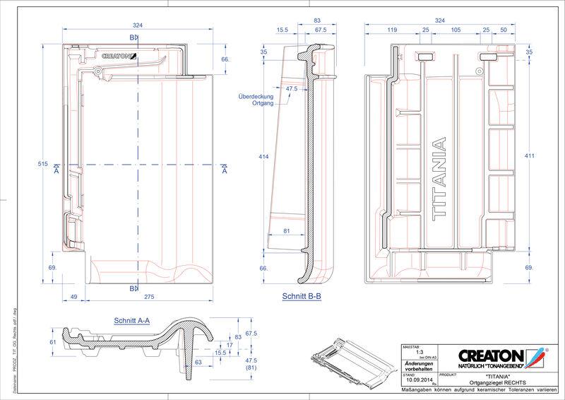Plik CAD produktu TITANIA dachówka boczna prawa OGR